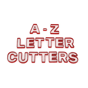 ONE LETTER ONLY Cookie Fondant Cutters Birthday cake Icing Name Letters A-Z UK