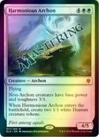 4x FOIL Harmonious Archon Throne of Eldraine MtG MasteringtheGame