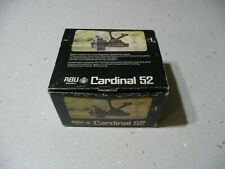 VINTAGE Abu Cardinal 52...MINT....RAREST....Made in SWEDEN