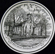 St. Paul's Church Lobachsville,Pa. 1833-1973 Decrative Collectibles Collector Pl