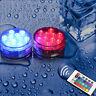 RGB LED Licht Unterwasser Lampe mit Fernbedienung Poolbeleuchtung Wasserdicht