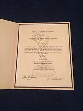 Rare 1973-1974 Emmy / TV Academy Awards Nomination For NBC Nightly News