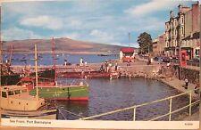 Scottish Postcard PORT BANNATYNE Isle of Bute Seafront Scotland ETW Dennis 1973