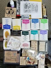 Big Lot Of Stamping Supplies