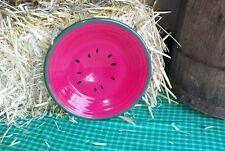 """FIESTA watermelon  9"""" LUNCHEON lunch PLATE scarlet 1st"""