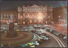AA4910 Milano - Città - Piazza della Scala - Notturno - Cartolina - Postcard