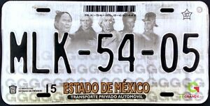 MEXICO STATE License plate Expired Graphic Background HEROES !!