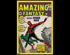 Amazing Fantasy #15 SPIDER-MAN DEBUT 1962 Marvel Comics Cover 24x36 POSTER
