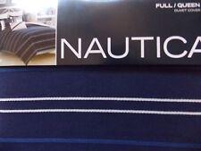 New Nautica Winston Navy White Twin Duvet Cover