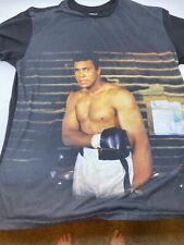 Vintage Muhammad Ali Brand T-Shirt Size Large Black Lives Matter
