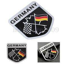 Metal Racing Car German Flag Emblem Grille Badge Decal Sticker For BMW VW Benz