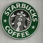 NEW 4 INCH STARBUCKS COFFEE IRON ON PATCH FREE SHIP CA1