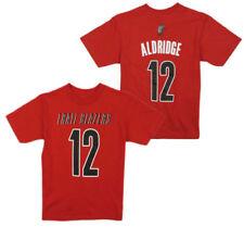 NBA Portland Trail Blazers Boys  Outerstuff Primary Logo Classic Hoodie 10-12 Team Color Youth Medium
