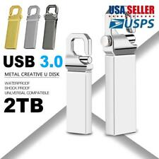High Speed Metal Key Pen Drive Memory Stick Flash Drive USB 3.0 2TB U Disk