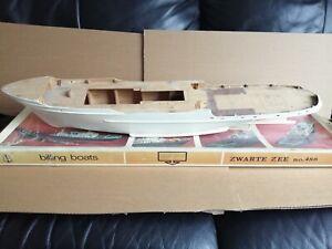 Billing no.486 1:50 Zwart Zee - Part Built Boat Model Kit
