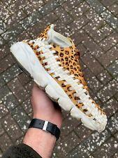"2011 Nike Air Footscape Woven Chukka PRM ""Leopard"" - UK 8 / US 9 / EUR 42.5"