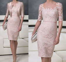 Elegant Bridal Mother of the Bride suit/outfit Lace Wedding Mum Dress Jacket