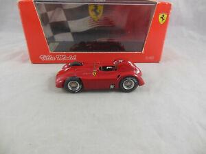 Extremely Rare Villa model 1957 Ferrari D50 Supercarenata Prove GP Reims 18/100