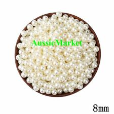 50 x beads ivory colour imitation pearls ladies girls necklace bracelet crafts