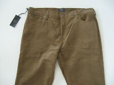 POLO RALPH LAUREN Men's Varick Slim Straight 5-Pocket Corduroy Pants 38x34