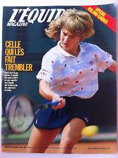 L'Equipe Magazine du 30/05/1987; Entretien Steffi Graff/ Spécial Roland Garros