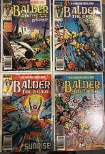 Balder The Brave # 1,2,3,4 (VF/NM) Canadian Price Variant CPV