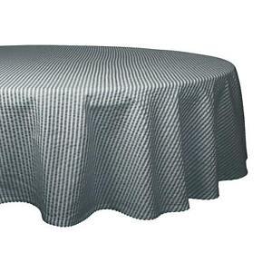 Classic Staple Stylish Mineral Seersucker Cotton Tablecloth Home Décor