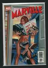 Marville #2 Greg Horn Nude Cover Pizza PlayStation (Marvel 2002) NM UNUSED C4.1