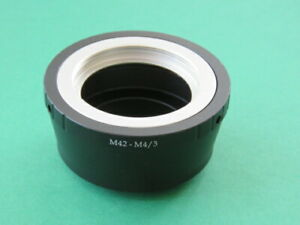 M42-M4/3 Screw Thread Mount Lens adapter to Micro Four Thirds M4/3 Camera