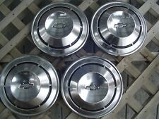 VINTAGE 1969 COPO CAMARO CHEVELLE 427 CHEVROLET WHEEL COVERS HUBCAPS CENTER CAPS