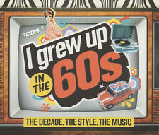 I GREW UP IN THE 60's - MONKEES / SUPREMES / CLIFF RICHARD ETC.- 3 CD FATBOX SET