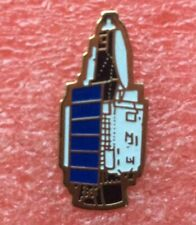 Pins VÉHICULE SPATIAL TDF 1 Télécommunications NASA Vintage Badge Lapel Pin