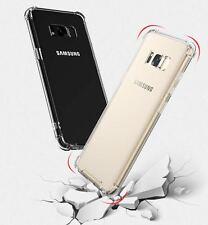 Samsung Galaxy S8 Anti Shock TPU Case Cover With Corner Bumps Transparent Hybrid