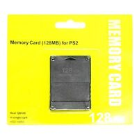 Brand New 128MB Memory Card Game Memory Card for Sony Play Station 2 PS2