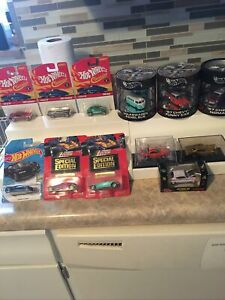 Nice Hot Wheels Cars W/Real Rubber Tires Lot