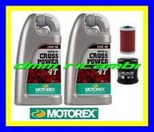Kit Tagliando KTM 640 LSE MILLENIUM 00> Filtro Olio MOTOREX Cross Power 10W/60
