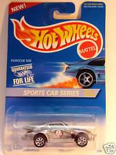 HOT WHEELS #404 SPORTS CAR SERIES PORSCHE 930 SILVER
