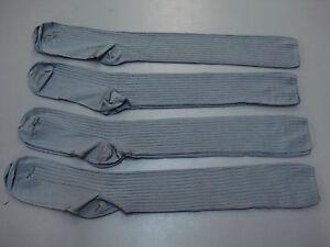 NWOT Women's Knee Dress Socks One Size  4 Pair Grey #169A