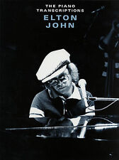 Elton John The Piano Transcriptions  Music Book Learn to Play YOUR SONG Pop Rock