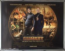 Cinema Poster: GRIMSBY 2016 (Main Quad) Sacha Baron Cohen Rebel Wilson