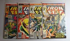 4 Comics: Iron Fist #7-10 Fine to Very Fine 6.0-8.0 Marvel RARE 30 Cent Variant!