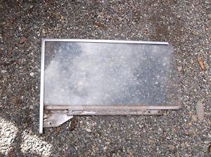 1963 1/2 1964 1965 Falcon Comet 2 Door Glass LH Clear Carlite Driver's Backlite