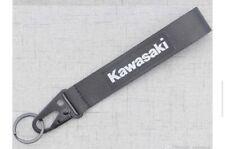 KAWASAKI BLACK Keychain Wrist Lanyard with Metal Keyring - FREE SHIPPING