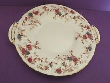 Minton Ancestral Bone China fluted Cake / Sandwich Bread & Butter Plate