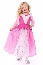 Sleeping Beauty Aurora Costume Princess Dress- Girls New Size Large 5-7 Years