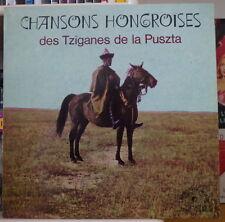 ZSIGMOND BURAI CHANSONS HONGROISES DES TZIGANES DE LA PUSZTA FRENCH LP