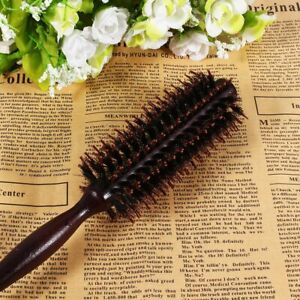 Hair Comb Radial Round Brush Wooden Handle Hairdressing for Salon Hairdressers