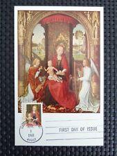 USA MK 1966 CHRISTMAS BETHLEHEM WEIHNACHTEN MAXIMUMKARTE MAXIMUM CARD MC c5223
