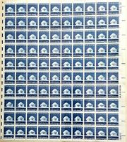 "EFO 1510 FULL SHEET OF 100 NICE HORIZONTAL PERF SHIFT INTO ""UNITED STATES 10c"""