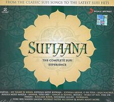 SUFIAANA - THE COMPLETE SUFI EXPERIENCE - BRAND NEW 2CD'S SET - FREE UK POST